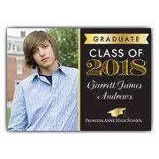 graduation announcements high school graduation announcements paper style