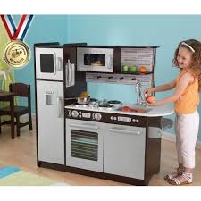 cuisine garcon kidkraft cuisine enfant en bois uptown expresso 3606507142648