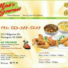 Asian Home Gourmet Minh U0027s Gourmet Chinese Restaurant Davenport Iowa Menu Prices