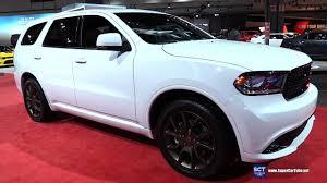 jeep durango 2018 2017 dodge durango r t awd exterior and interior walkaround