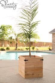 enchanting cedar planter plans and how to diy a planter box how to