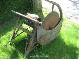 Log Saw Bench Ferguson Logging Saw Bench For Sale Second Hand Oxfordshire