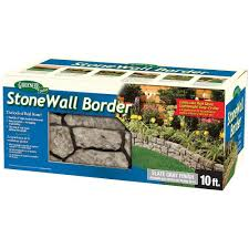 dalen products 6 in x 10 ft stonewall border e4 10gy the home
