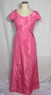 80s Prom Dresses For Sale Vintage 1960s Mike Benet Formals Pink Taffeta Sequined Evening