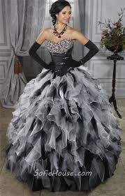 black and white quinceanera dresses pretty gown orange organza quinceanera dress with beading ruffles