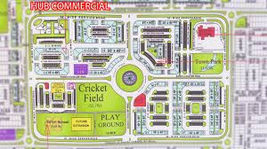 Islamabad Map Bahria Town Commercial Maps
