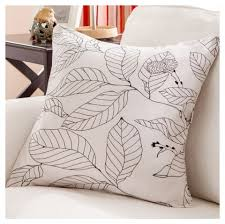 full of leaves sofa cushions modern minimalist style bed rest