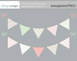 bunting banner clip art flag banner easter baby by designscraps