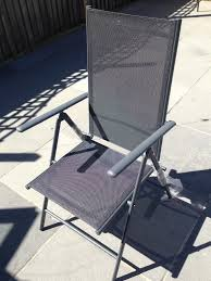 Metal Reclining Garden Chairs New With Tag Tesco Seville Reclining Garden Chair In City Of