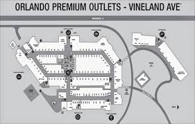 Orlando Outlets Map by Orlando International Premium Outlets Map Images