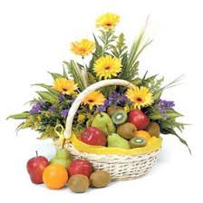flowers and fruit beautiful basket of fruits and flowers price us 49 99 send a