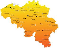 vector maps belgium vector maps