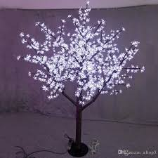 2018 Free Ship 5ft 1 5m Height Led Cherry Blossom Tree Indoor