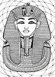 pharaoh coloring page free printable coloring pages