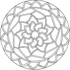 free simple mandala coloring pages print 4120 free simple