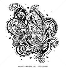 beautiful vintage ornament can be used stock vector 140142940