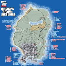 Gta World Map Helicopter Location In Gta 5 And Gta Online Gamingreality