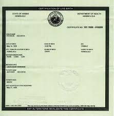 fake birth certificate barack obama u0027s fake birth certificate and mysterious orgins