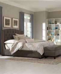 Tufted Bedroom Sets Bedroom Macys Bedroom Sets With Oak Wood Tufted Bed And Floral