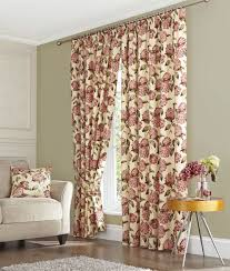 Floral Lined Curtains Curtain Floral Curtains Ready Made Extraordinary Pink Pencil