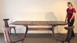 audrey trestle extension table youtube