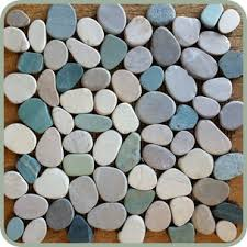 mix sliced pebble tile at design for less