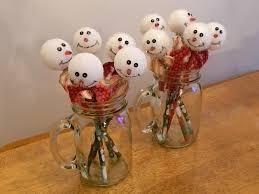 decoration feminine pastel easter bunny jars with white lid