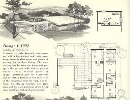interior mid century modern home floor plans intended for