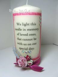 wedding memorial wording memorial candles for wedding product details this floating wedding