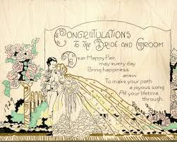 wedding card sayings the copycat collector collection 244 vintage 1920s wedding cards
