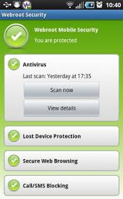 security app for android webroot mobile security app for android