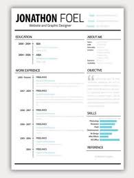 minimalist resume template indesign gratuit macaulay honors application 27 beautiful résumé designs you ll want to steal graphic