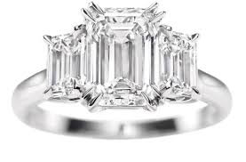 harry winston diamond rings engagement ring emerald cut diamond engagement rings harry