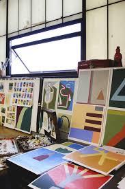 home design studio brooklyn studio visit with painter kristin texeira u2014 calhoun u0026 co