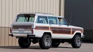 jeep grand wagoneer custom 1988 jeep grand wagoneer custom s159 chicago 2017