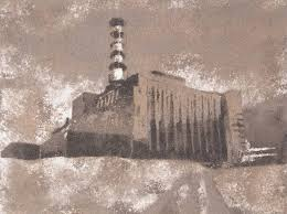 saatchi art chernobyl medium gray power plant proof i painting by