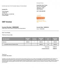 invoice template nz not gst registered u2013 luxerealty co