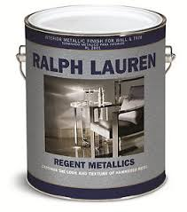 ralph lauren paint regent metallics gallon pick 76 colors rl2601