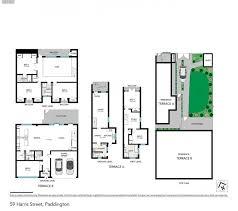 paddington station floor plan house sold 59 harris street u0026 14 sutherland avenue paddington