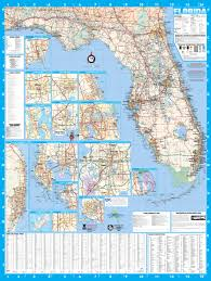 Amtrak Florida Map by Florida Wall Map Executive Commercial Edition