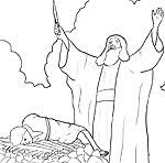abraham and isaac coloring page sunday abraham bible coloring pages