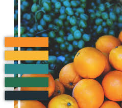 10 food themed color palettes for your branding inspiration