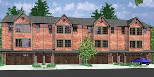 three plex floor plans fourplex plan 3 story town house 3 bedroom townhouse f 546