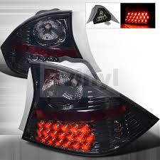 2001 honda civic tail lights spec d tuning honda civic 2001 2003 smoked led tail lights