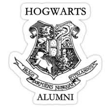 hogwarts alumni bumper sticker hogwarts alumni by krishnef computer stickers