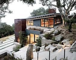sloped lot house plans modern house plans sloped lot home deco plans