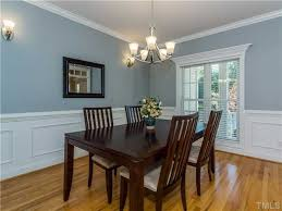 Pictures Of Wainscoting In Dining Rooms Traditional Dining Room With Crown Molding U0026 Chair Rail In Apex