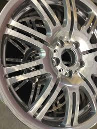 porsche silver powder coat speciality colours wheel refurbishing