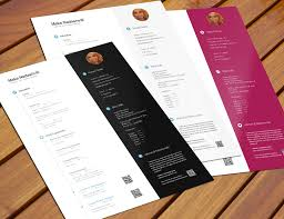Free Cool Resume Templates Word Cv Mockup Timeline Style Free Resume Photoshop Template