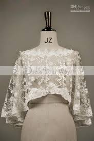 delicate wedding shawl lace edged boat neck wedding bridal dresses